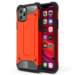 Military Defender Shockproof Case for Apple iPhone 11 Pro - Red